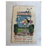 Vintage Wrigley Zoo Advertising