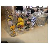 Novelty Glass Cup Lot
