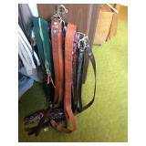 Lot Of Ties And Belts