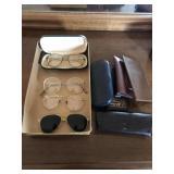 4 Pair Of Vintage Glasses