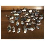 Koelpin Miniature Duck Decoy Lot Of 36