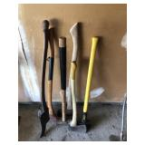 Lot Of Axes And Sledgehammers