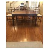Higher End Table With 4 Chairs