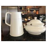 Pottery Barn Bowl And Pitcher