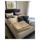 Huge Lot Of Coverlets, Throw Pillows And More