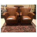2 Higher End Arm Chairs