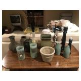 Decor And Pottery Lot
