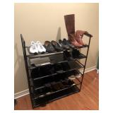 Shoe Rack And Shoes