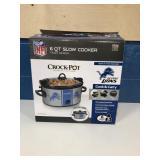 Detroit Lions Crockpot MSRP $24.99