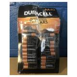 Duracell 40 pack AA Batteries MSRP $16.99