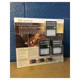 New 3 LED Motion Sensor Lights MSRP $19.99