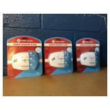 3 Pack First Alert Carbon Monoxide Set