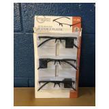 Semi-Rimless Reading Glasses MSRP $18.99