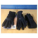 (3) Head Ladies Gloves Size Small