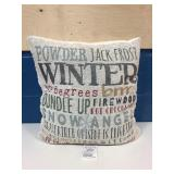 Like New Holiday Pillow MSRP $9.99