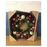 """30"""" Wreath MSRP $29.99"""