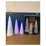 Set Of 3 Color Changing Trees MSRP $29.99