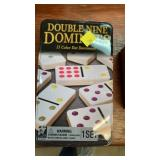 Tin of dominoes