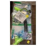 Snorkel and goggle set