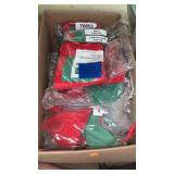 Box of Christmas stockings