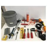 Pail of tools