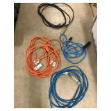 Four good extension cords