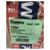 Fasteners. Case of 1000
