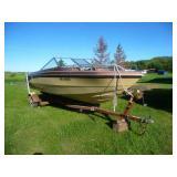 Glastron V-195 Sea Rider 18.5 foot Boat w Trailer