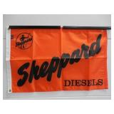 Sheppard Diesels contemporary nylon flag