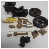 Unassembled Breisch model gas engine