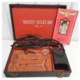 Master Violet Ray massage kit