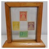 framed federal use tax stamps