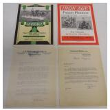 2 Iron Age brochures & 2 company letters