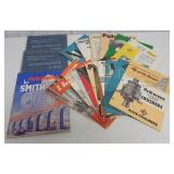 lot of 15+ Smith & Allis Chalmers brochures