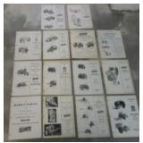 lot of 14 Farquhar repair parts price list & other