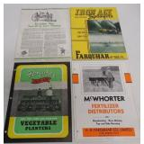 lot of 4 Farquhar & Iron Age brochures