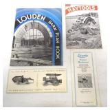 (4)Eureka, Louden, Minneapolis Moline brochures