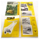 lot of 4 Farquhar Iron Age brochures