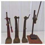 4 bottle cappers Big Meyer, Gear Top & others