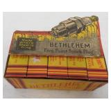 lot of 10 Bethlehem spark plugs in boxes