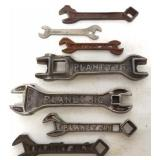 lot of 7 Planet JR wrenches