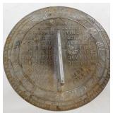 Yorktowne Sundial mfg by Chas Strickler York PA