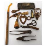 Miscellaneous Lot of Tool / Gun Powder Parts Etc.