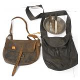 Pair of Leather Carry Pouches