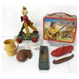 Lunch Box / Pull Toy / Mr. Peanut / Misc