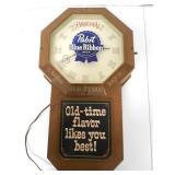 Pabst Blue Ribbon Clock