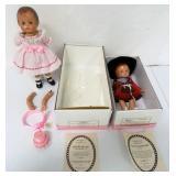 Pair of Effanbee Dolls NIB