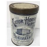 Astor House Coffee Tin