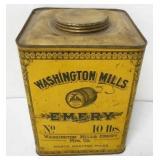 Washington Mills 10 LB. Emery Tin