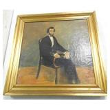 Oil on Canvas Abraham Lincoln